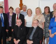 Fr James O' Hanlon 50th anniversary of ordination June 27th 2015. Alfreton. Gerry Molumby  (59)
